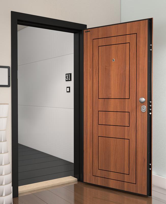 Монтаж на блиндирани входни врати