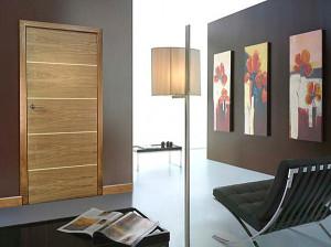 Дизайнерска врата от бамбук